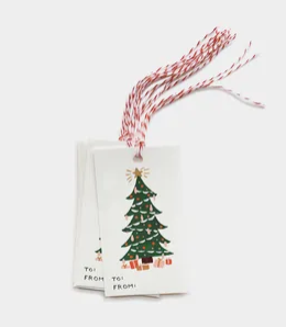 Christmas Tree Gift Tags