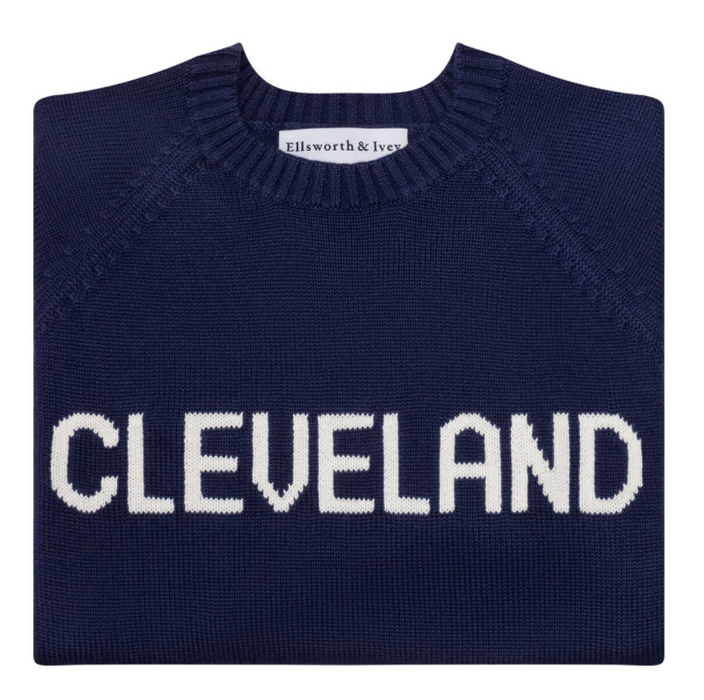 Navy Cleveland Sweater