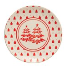 "Holiday Tree 6"" Plate"