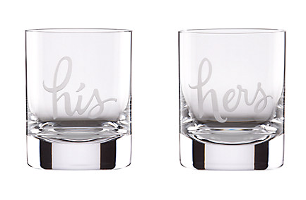 His and Hers Double Old Fashion Set
