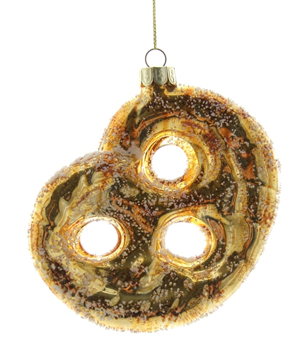 Salted Pretzel Ornament