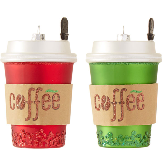 Coffee Cup Ornaments