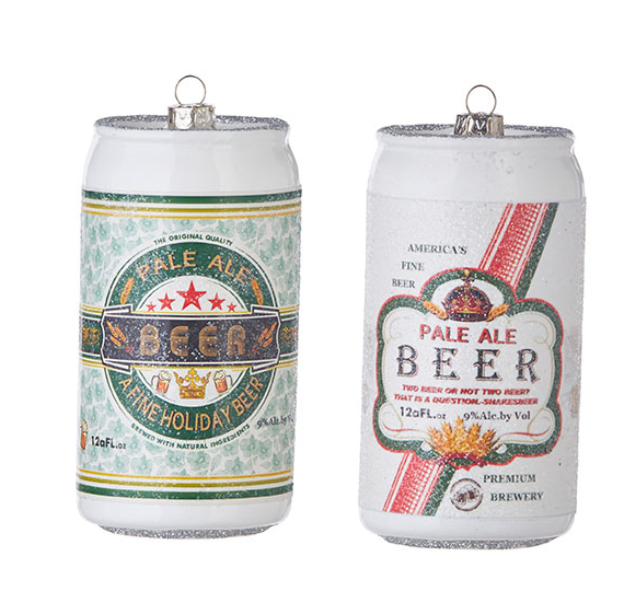 Beer Can Ornaments