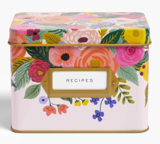 RPC Juliet Rose Recipe Tin