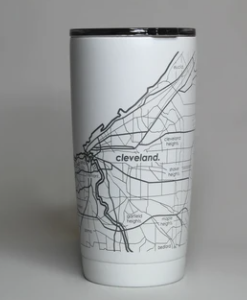 City Maps Insulated Pint Tumbler