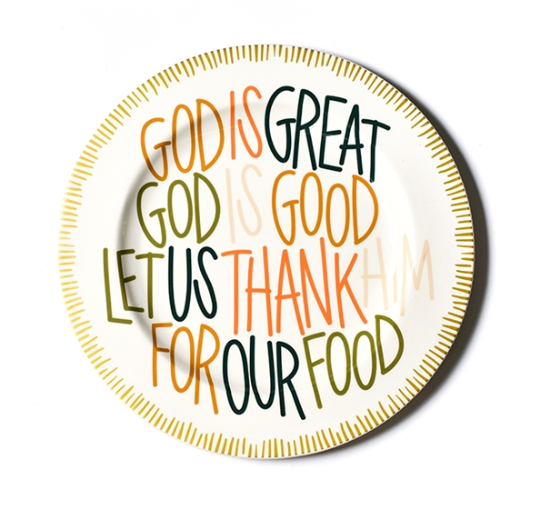 God is Great Plate