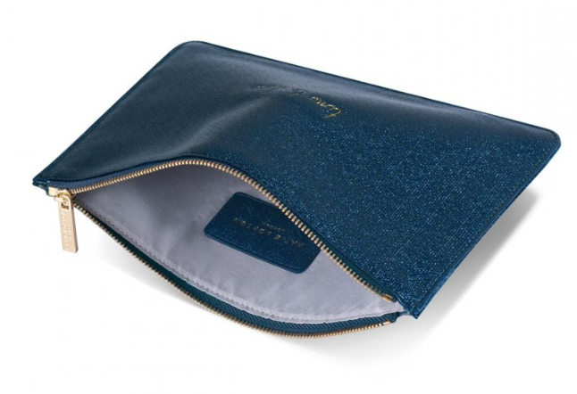 Perfect Pouch - Met Navy Time to Shine