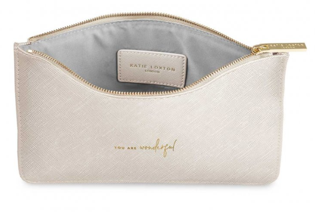 Perfect Pouch - Met White You are Wonderful