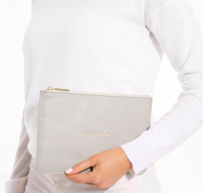 Perfect Pouch -Grey One in Million