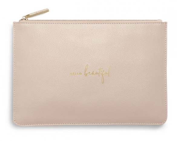 Perfect Pouch -Pink Hello Beautiful