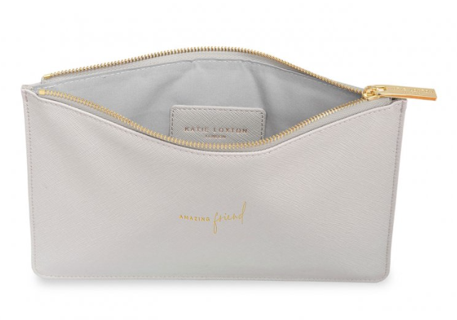 Perfect Pouch -Gray Amazing Friend