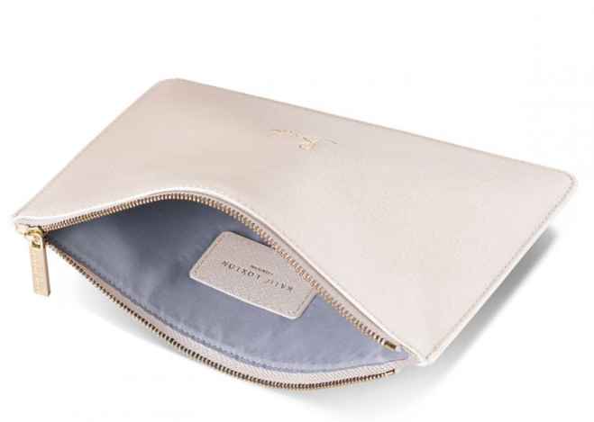 Perfect Pouch - Met White Bride