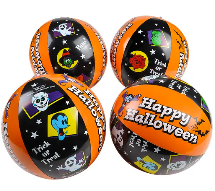 Halloween Inflatable Beach Ball