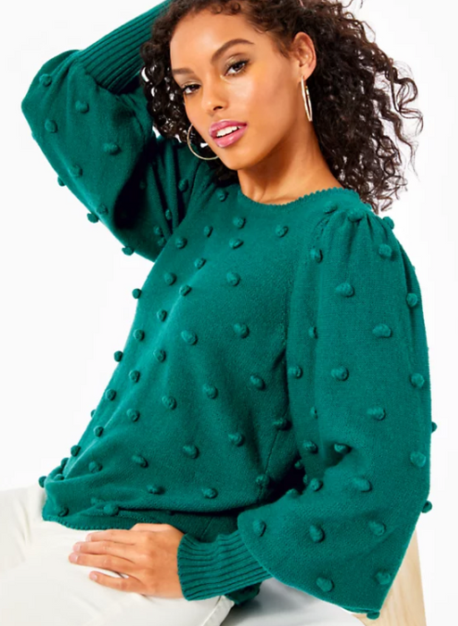 Kippa Sweater - Spruce Green