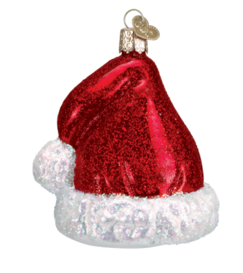Santa's Hat Ornament