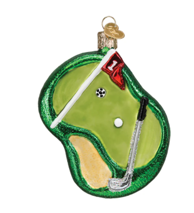 Putting Green Ornament