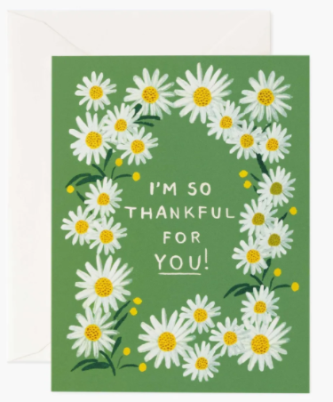 Daisies Thankful for You