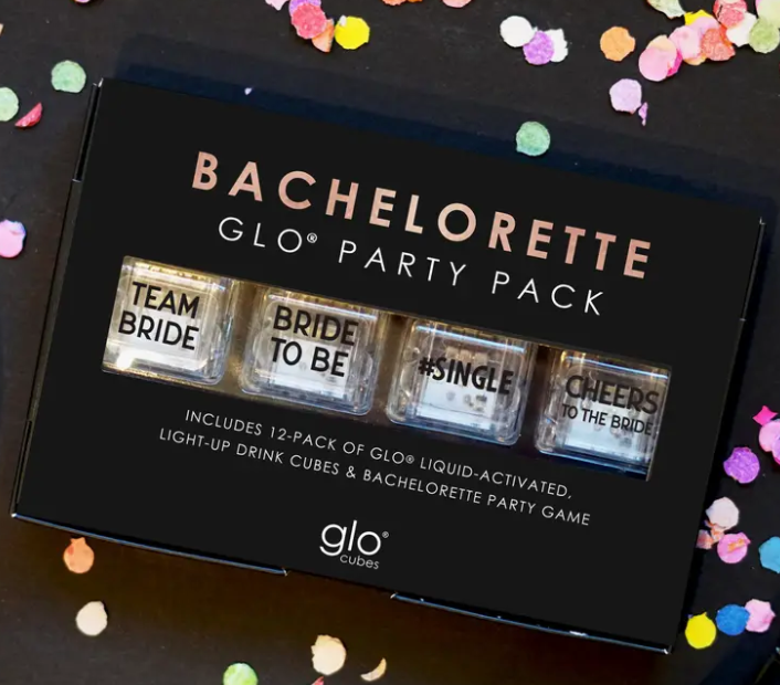 Glo Pack Liquid Activated Cubes (Bachelorette 12 Pack)