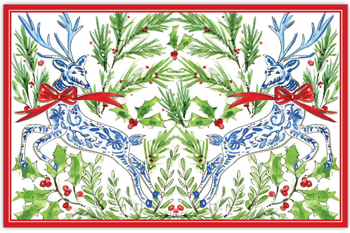 Holiday Reindeer Placemat