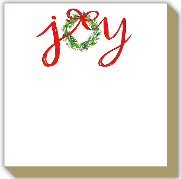 Holiday Joy Luxe Notepad