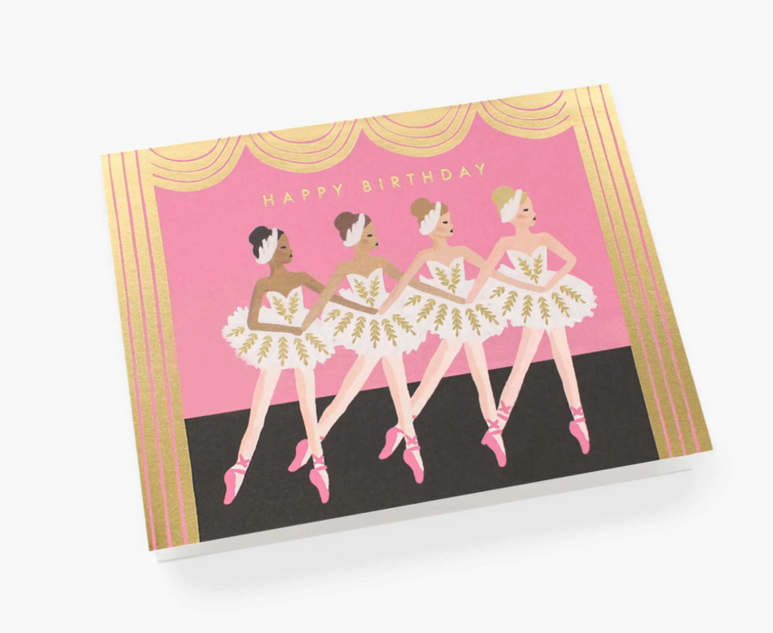 Birthday Ballet Card