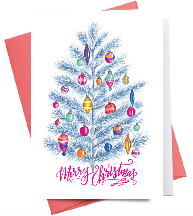 Silver Tree Card