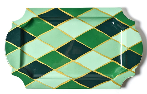 Emerald Series Diamond Traditional Tray