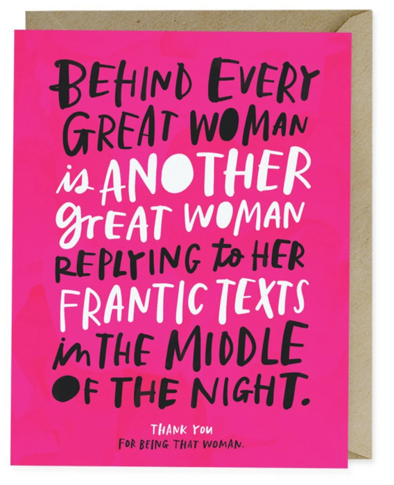 Every Great Woman