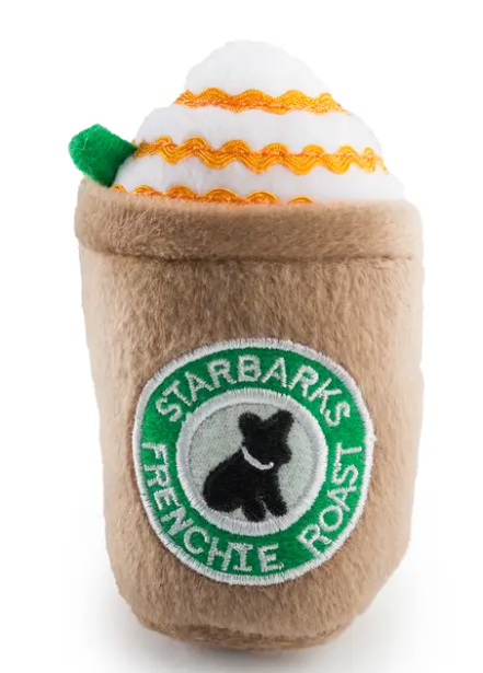 Starbarks Frenchie Roast Dog Toy