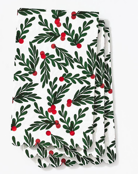 Holly Berry Guest Napkin
