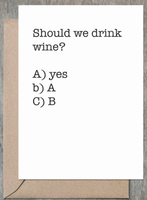 Should We Drink Wine