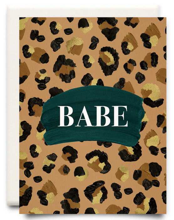 Babe Friendship Card