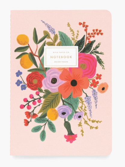 Garden Party  Notebooks Set of 3