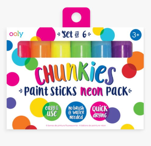 Chunkies Neon Paint Sticks