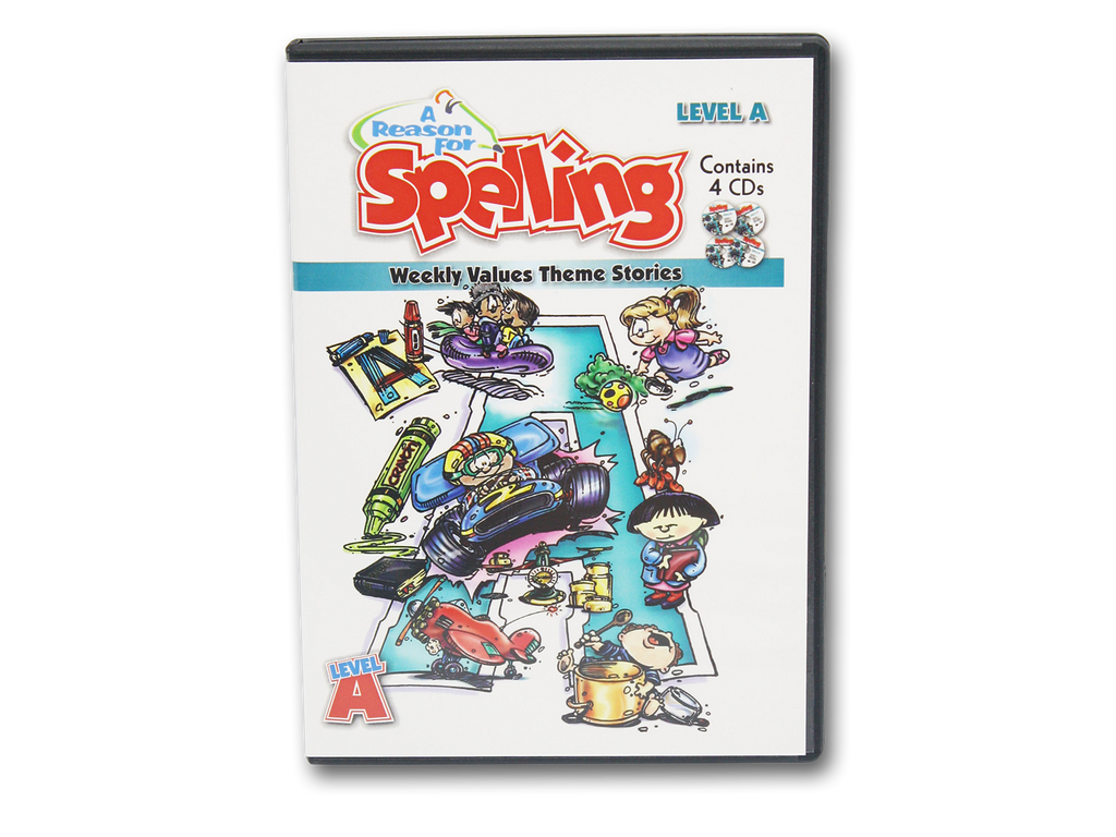 Spelling Level A Theme Story CDs (Limited Stock)