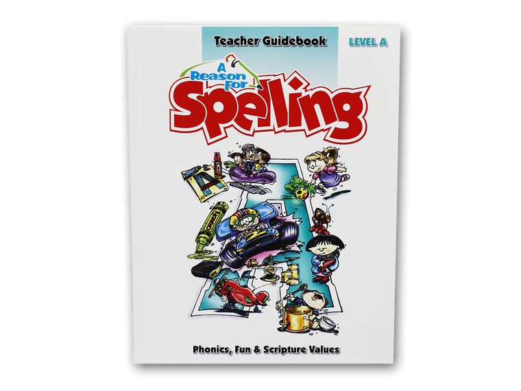 Spelling Level A Teacher Guidebook (Limited Stock)