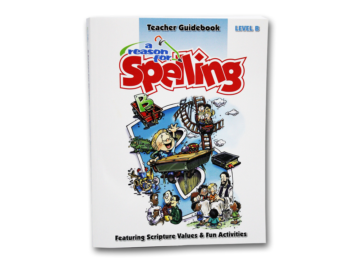 Spelling Level B Teacher Guidebook (Limited Stock)