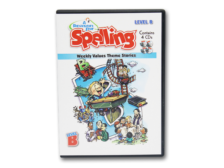 Spelling Level B Theme Story CDs (Limited Stock)