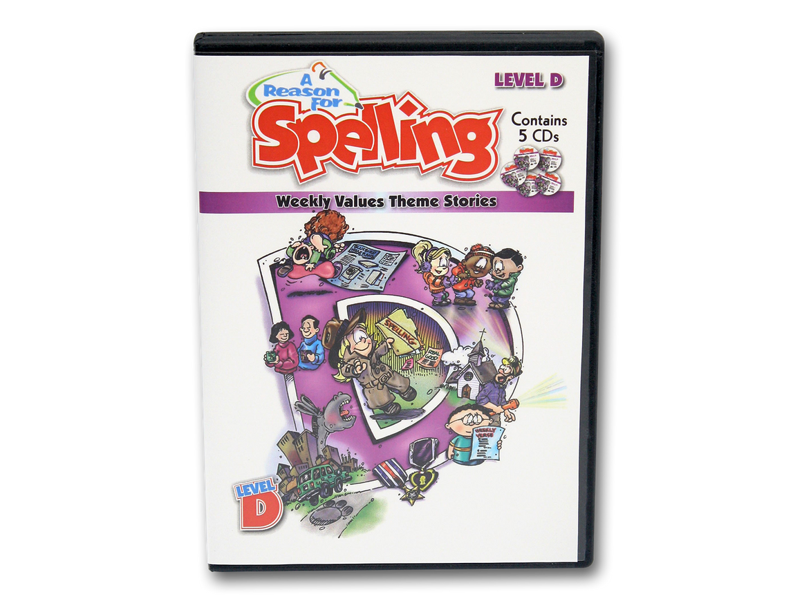 Spelling Level D Theme Story CDs (Limited Stock)