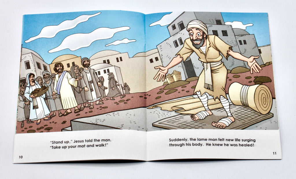Guided Reading Intermediate Readers Set - Miracles & Parables (7 Bks)