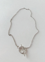 Load image into Gallery viewer, silver chain necklace