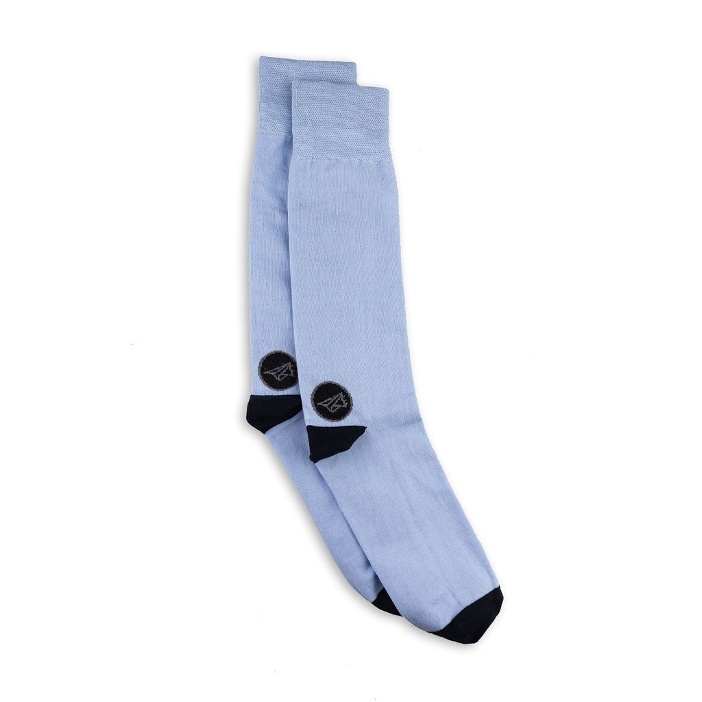 Light blue mens socks
