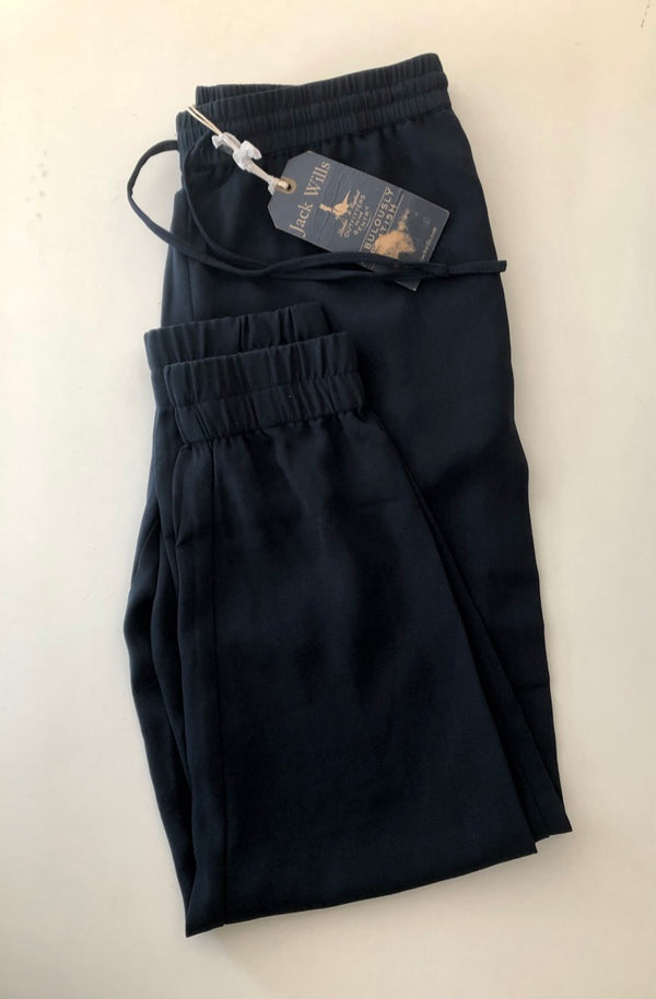 Size 10 Jack Wills Navy Trousers New & Tagged Rrp £69.50