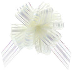 Organza Ribbon and Bow for Baby Hamper Decoration