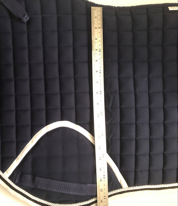 Matching Jumping Saddlecloth and Fly Veil Equestrian Full  Inc Embroidery