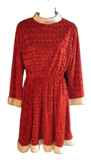 Size 12 Red Santa Christmas  Dress