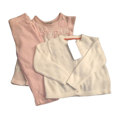 Age 12-18 Months Gorgeous Baby Girls 3 Piece Outfit Next M&S New & Tagged