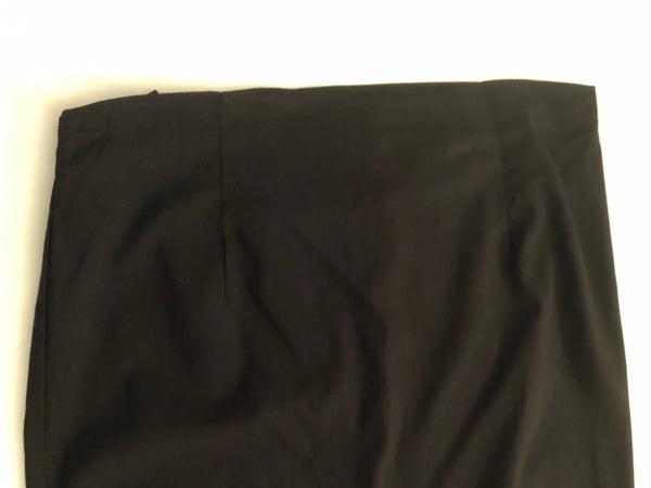 Maternity Size 10 Black Long Skirt New without Tags Rrp £40