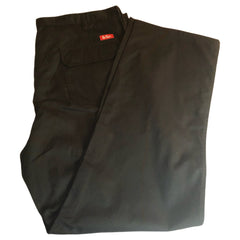 Large Mens 42L Lee Cooper Black utility work Trousers New