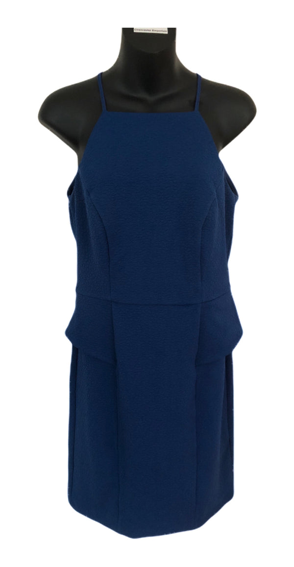 Size 10-12  Boutique Lost Society Royal Blue Mini Dress